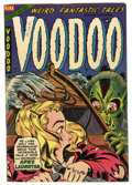 Golden Age (1938-1955):Horror, Voodoo #17 (Farrell, 1954) Condition: VG+....
