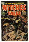 Golden Age (1938-1955):Horror, Witches Tales #25 (Harvey, 1954) Condition: GD....