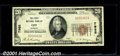 National Bank Notes:Alabama, First National Bank of Opp, AL, Charter #7985. 1929 $20 Type On...