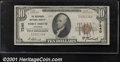National Bank Notes:Arkansas, Merchants National Bank of Fort Smith, AR, Charter #7240. 1929 ...