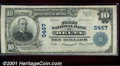 National Bank Notes:Colorado, First National Bank of Delta, CO, Charter #5467. 1902 $10 Thi...
