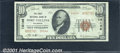National Bank Notes:Colorado, First National Bank in Fort Collins, CO, Charter #14146. 1929...