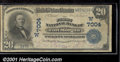 National Bank Notes:Colorado, First National Bank of Fort Morgan, CO, Charter #7004. 1902 $20...