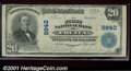 National Bank Notes:Colorado, First National Bank of Fruita, CO, Charter #8840. 1902 $20 Th...