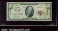 National Bank Notes:Colorado, First National Bank of Olathe, CO, Charter #9719. 1929 $10 Ty...