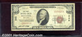 National Bank Notes:New York, First National Bank of Batavia, NY, Charter #340. 1929 $10 Type...