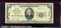 National Bank Notes:New York, First National Bank of Batavia, NY, Charter #340. 1929 $20 Type...
