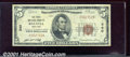 National Bank Notes:New York, First National Bank of Batavia, NY, Charter #340. 1929 $5 Type ...