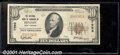 National Bank Notes:West Virginia, National Bank of Summers of Hinton, WV, Charter #7998. 1929 $10...