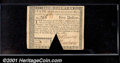Colonial Notes:Massachusetts, May 5, 1780, $5, Massachusetts, MA-282, XF-AU, cancelled. A tri...