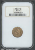 Proof Indian Cents: , 1860 1C