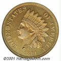Proof Indian Cents: , 1861 1C