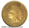 Proof Indian Cents: , 1873 1C, RD