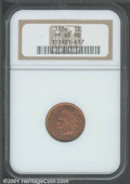Proof Indian Cents: , 1884 1C, RD