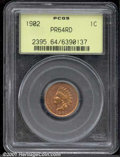 Proof Indian Cents: , 1902 1C, RD