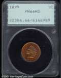Proof Indian Cents: , 1899 1C, RD