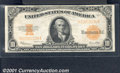 Large Size Gold Certificates:Large Size, 1922 $10 Gold Certificate, Fr-1173, VF-XF. A crisp, original, p...