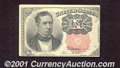 Fractional Currency: , 1874-1876 10c Fifth Issue, Meredith, Fr-1265, XF. ...