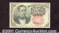 Fractional Currency: , 1874-1876 10c Fifth Issue, Meredith, Fr-1265, AU. ...