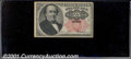 Fractional Currency: , 1874-1876 25c Fifth Issue, Walker, Fr-1308, AU. ...