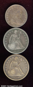 Early Half Dollars: , Multiple Coin Lot...