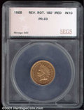 Additional Certified Coins: , 1868 1C, RD