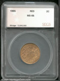 Additional Certified Coins: , 1865 2C, RD