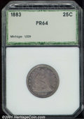 Additional Certified Coins: , 1883 25C
