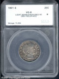 Additional Certified Coins: , 1901-S 25C