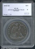 Additional Certified Coins: , 1870-CC S$1