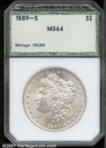 Additional Certified Coins: , 1889-S S$1