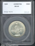 Additional Certified Coins: , LEXINGTON 50C