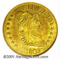Early Half Eagles: , 1805 $5