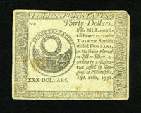 Continental Currency Counterfeit Detector September 26, 1778 $30 About New. This is another delightful example of this c...