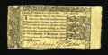 Colonial Notes:Maryland, Maryland April 10, 1774 $1/3 Extremely Fine. A jumbo right marginsand an unusually complete left indent give this Maryland ...