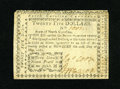 "Colonial Notes:North Carolina, North Carolina May 10, 1780 $25 About New. The technical grade onthis lovely note is About New with the motto ""Terra Libra...."