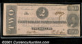 Confederate Notes:1862 Issues, 1862 $2 Judah P. Benjamin, T-54, VG. This note is from a small ...