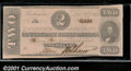 Confederate Notes:1862 Issues, 1862 $2 Judah P. Benjamin, T-54, CU. A small hole is present wh...