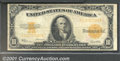 Large Size Gold Certificates:Large Size, 1922 $10 Gold Certificate, Fr-1173, VG-Fine. A pleasant, origin...
