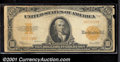 Large Size Gold Certificates:Large Size, 1922 $10 Gold Certificate (Small Serial Numbers), Fr-1173a, VG....