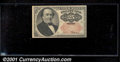 Fractional Currency: , 1874-1876 25c Fifth Issue, Walker, Fr-1309, AU. ...