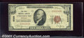 National Bank Notes:Nebraska, First National Bank of Stromsburg, NE, Charter #8286. 1929 $10 ...