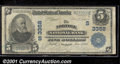 National Bank Notes:Virginia, Norfolk National Bank, Norfolk, VA, Charter #3368. 1902 $5 Thir...
