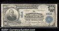 National Bank Notes:Virginia, National Bank of Petersburg, VA, Charter #3515. 1902 $10 Third ...