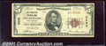 National Bank Notes:West Virginia, Charleston National Bank, WV, Charter #3236. 1929 $5 Type One, ...
