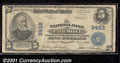 National Bank Notes:West Virginia, National Bank of Fairmont, WV, Charter #9462. 1902 $5 Third Cha...