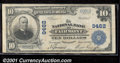 National Bank Notes:West Virginia, National Bank of Fairmont, WV, Charter #9462. 1902 $10 Third Ch...