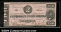 Confederate Notes:1862 Issues, 1862 $2 Judah P. Benjamin, T-54, AU. The left end is badly trim...