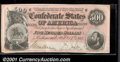 Confederate Notes:1864 Issues, 1864 $500 Equestrian Statue of Washington Confederate Flag on l...