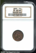 Proof Indian Cents: , 1890 1C, RB